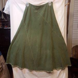 Adille maxi skirt